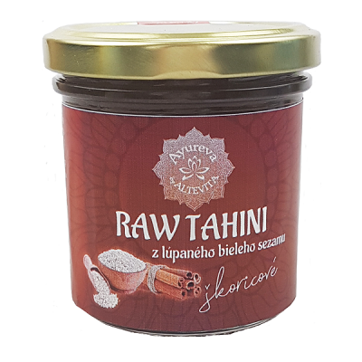 Altevita RAW Tahini škoricové 165ml