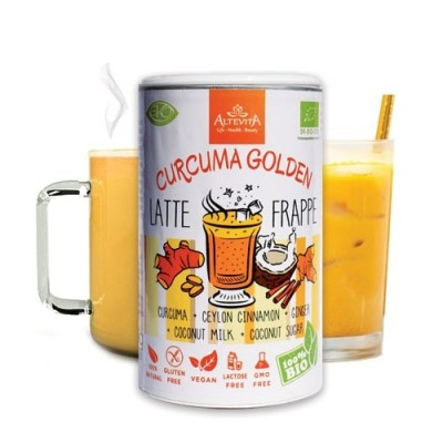 Altevita BIO CURCUMA GOLDEN LATTE / FRAPPE 220g