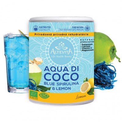 Altevita AQUA DI COCO lemon 240g