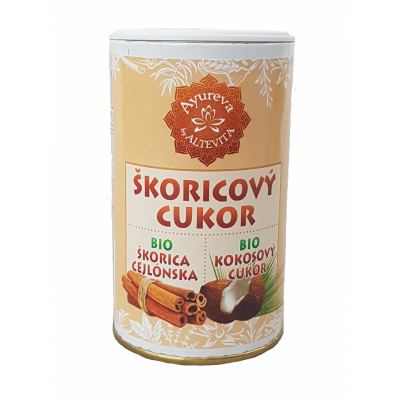 Altevita BIO Škoricový cukor kokosový v cukorničke 100g