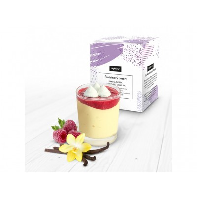 MyKETO proteínový dezert panna cotta s príchuťou vanilky 1 porcia 40g