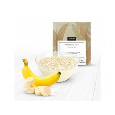 MyKETO Proteínová kaša banánová 1 porcia 40g