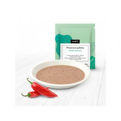 MyKETO Proteínová polievka hovädzia pikantná 40g