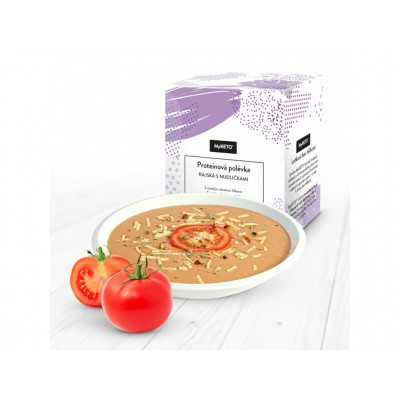 MyKETO Proteínová polievka rajčinová s rezancami 5 porcií