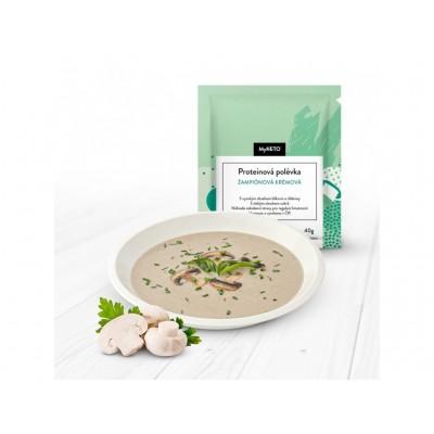 MyKETO Proteínová polievka šampiňónová krémová 40g